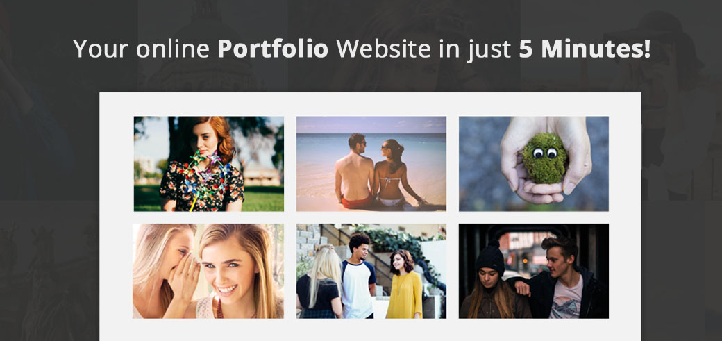 Your online Portfolio Website in just 5 Minutes!