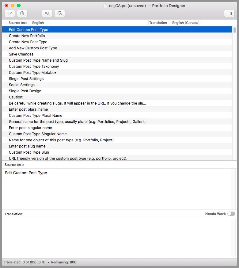 Pot File Editing