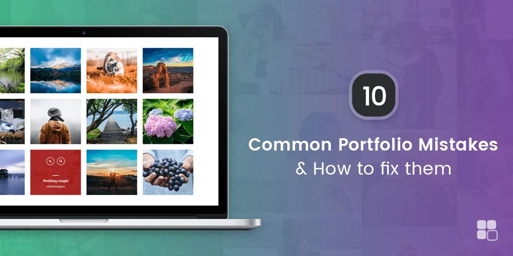10 Common Portfolio Mistakes & How To Fix Them