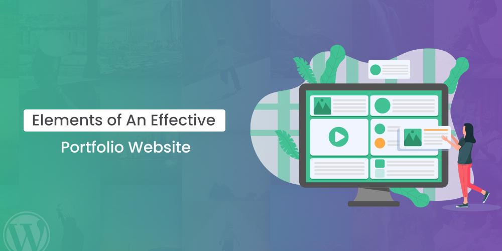 Elements Of An Effective Portfolio Website
